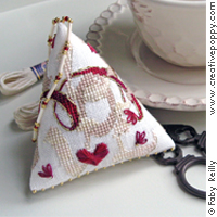 Love Humbug, cross stitch pattern by Faby Reilly Designs