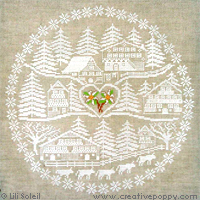 Heart of the valley, cross stitch pattern by Lili Soleil