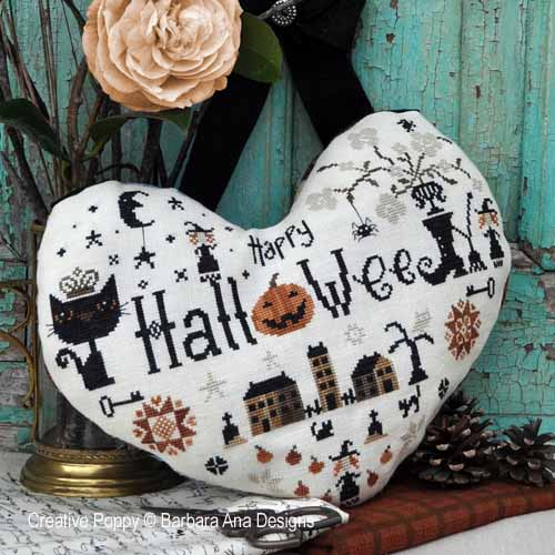 Halloween heart