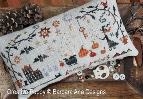 Hocus Pocus cross stitch pattern by Barbara Ana Designs
