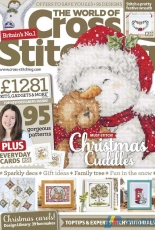 As featured in The World of Cross Stitching magazine issue 247 on sale September/October 2016