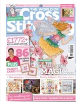 As featured in World of Cross stitch magazine issue 246 on sale September/October