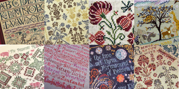 Cross stitch patterns by Tempting Tangles designed by Deborah A. Dick