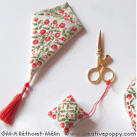 Scissor Pouches, Cases & Fobs: {Free Patterns} : TipNut.com