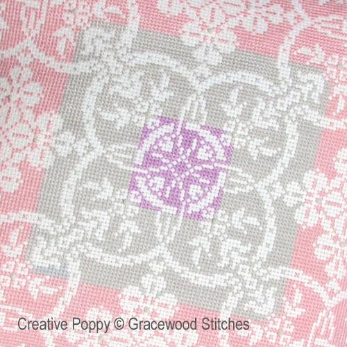 Winter daybreak cross stitch pattern by Gracewood Stitches
