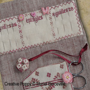Pins and Needles Needlework Wallet