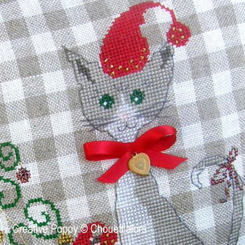 Cats (and mice) patterns to cross stitch