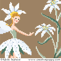 White Fairies collection: Edelweiss fairy