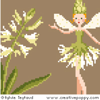 White Fairies collection: Hyacinth Fairy