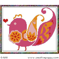 <b>Miss Passerolla</b><br>cross stitch pattern<br>by <b>Alessandra Adelaide Needleworks</b>