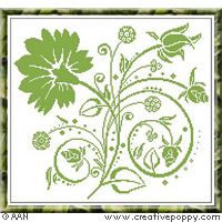 Wildberries - cross stitch pattern - by Alessandra Adelaide Needleworks