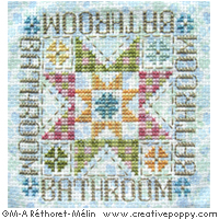 Quilting and Patchwork inspired patterns to cross stitch