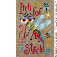A stitcher's itch - cross stitch pattern - by Barbara Ana Designs