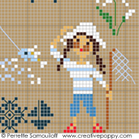 Seaside motif sampler (large)