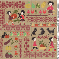 Harvest Mini Motif Sampler (large)