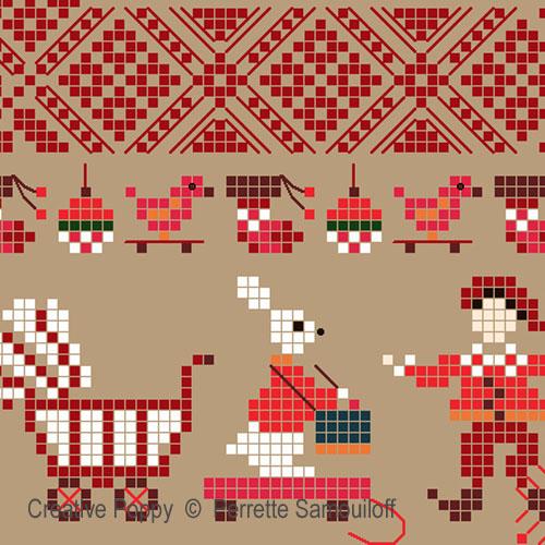 Christmas Mini motif sampler (large) (zoom 1)