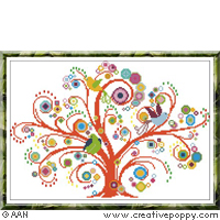A fabulous tree by Alessandra Adelaide Needleworks