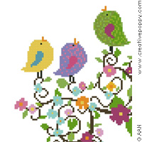 Cross stitch patterns designed by Alessandra Adelaide Needleworks AAN