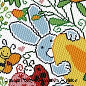 Alessandra Adelaide Needlework - Easter time (cross stitch pattern)