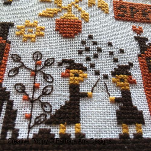 Spellville cross stitch pattern by Barbara Ana Designs, zoom 1