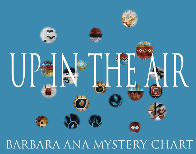 Up in the air - Mystery chart SAL - Subscription cross stitch pattern by Barbara Ana designs