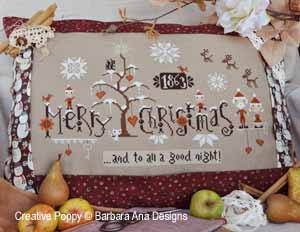 Barbara Ana - Cinnamon Christmas (cross stitch pattern )