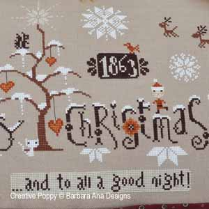 Barbara Ana - Cinnamon Christmas (cross stitch pattern ) (zoom1)