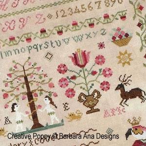 Sampler patterns to cross stitch