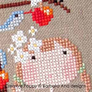 Apples patterns to cross stitch