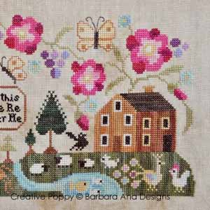 Landscapes, countryside patterns to cross stitch