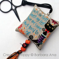 Trick or treat Scissor fob