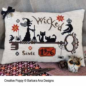 Barbara Ana - Wicked (since...) (cross stitch pattern )