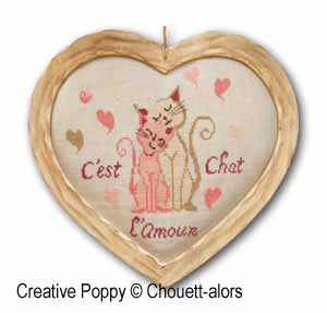 Chouett'alors - Pair of cats (L'Amour)