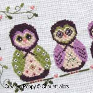 Matryoshka Owls
