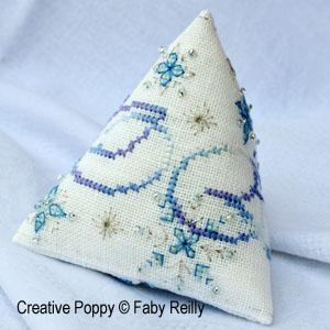 Frosty Snow Flake Humbug (Christmas ornament)