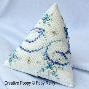 Frosty Snow Flake Humbug (Christmas ornament)
