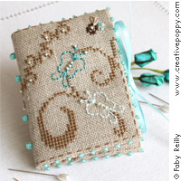 Butterfly Needlebook - cross stitch pattern - by Faby Reilly Designs