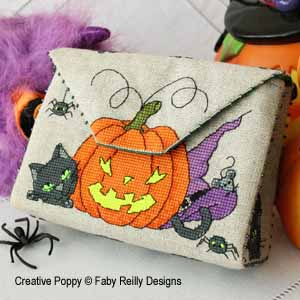 Halloween Purse cross stitch pattern by Faby Reilly