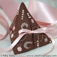 Rose Chocolate Humbug - cross stitch pattern - by Faby Reilly Designs
