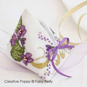 Violet humbug - cross stitch pattern - by Faby Reilly Designs (zoom 1)