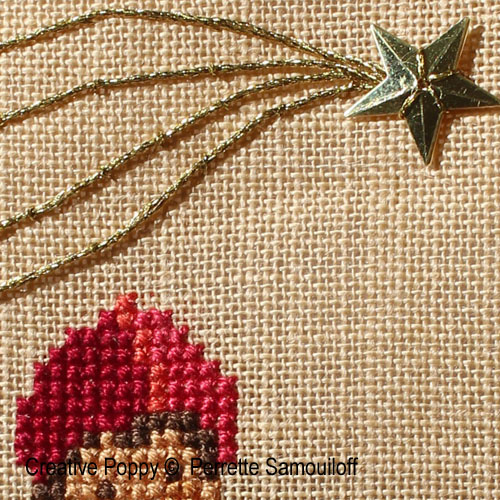 Free Tutorial: a shooting star cross stitch pattern by XXX