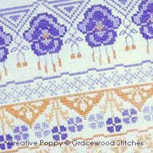 Borders & Bands patterns to cross stitch