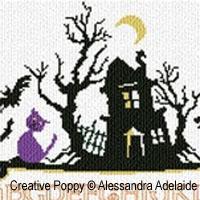 Halloween ABC - cross stitch pattern - by Alessandra Adelaide Needleworks (zoom 1)