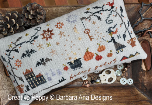 Hocus Pocus cross stitch pattern by Barbara Ana Designs