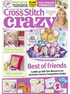 As featured in cross stitch crazy magazine 191