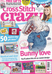 As featured in cross stitch Crazy magazine 189