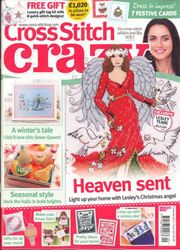 As featured in Cross Stitch Crazy magazine issue 209 on sale November 2015