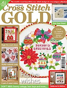 As featured in Cross Stitch Gold magazine issue NNN on sale October