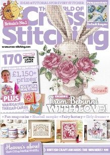 As featured in World of Cross stitch magazine issue 267 on sale April 2018