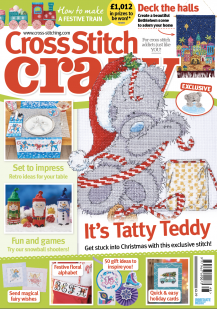 As featured in Cross Stitch Crazy magazine - Christmas issue 248 on sale October 2018